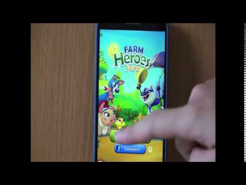 วิธีเพิ่มหัวใจ farm heroes saga บนมือถือ android[Officemanner]