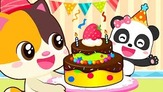❤ Miu Miu Birthday Party | Animation For Babies | Kids Carto…
