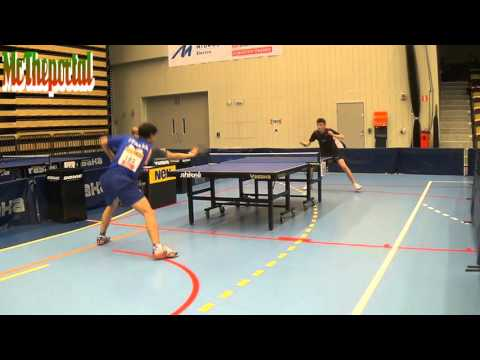 Table Tennis Safir Open 2016 - Luca Bressan Vs Luke Savill -