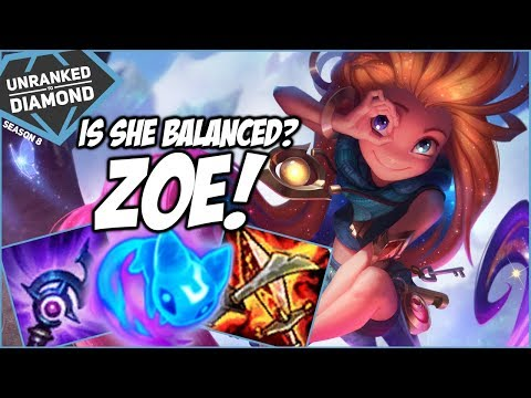 IS ZOE BALANCED NOW? - Unranked to Diamond - Ep. 127 | League of Legends