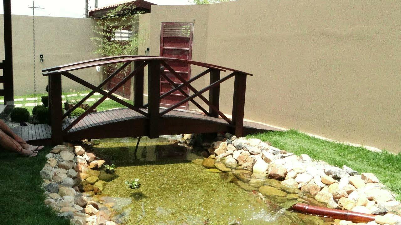 Lago ornamental caio vinicius dos santos youtube for Como construir un lago artificial