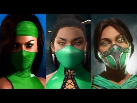 Mortal Kombat New Mask Mk11 Jade And Evolution Skins Costumes Mk3