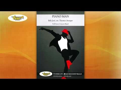 Piano Man - Concert Band - Joel - Asanger - Tierolff