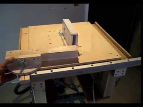 Selbstgebaute Tischkreissage Homemade Table Saw Youtube