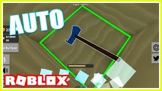 ROBLOX TREASURE HUNT SIMULATOR AUTO DIGGING! *GET TONS OF MONEY FAST*💰