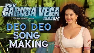 Sunny Leone's Deo Deo Song Making   Garuda Vega Movie   Rajasekhar, Pooja Kumar   Praveen Sattaru