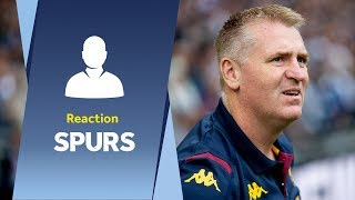 Dean Smith's Spurs reaction: We showed we can compete