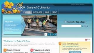 Data.CA.Gov for greater visibility into California government