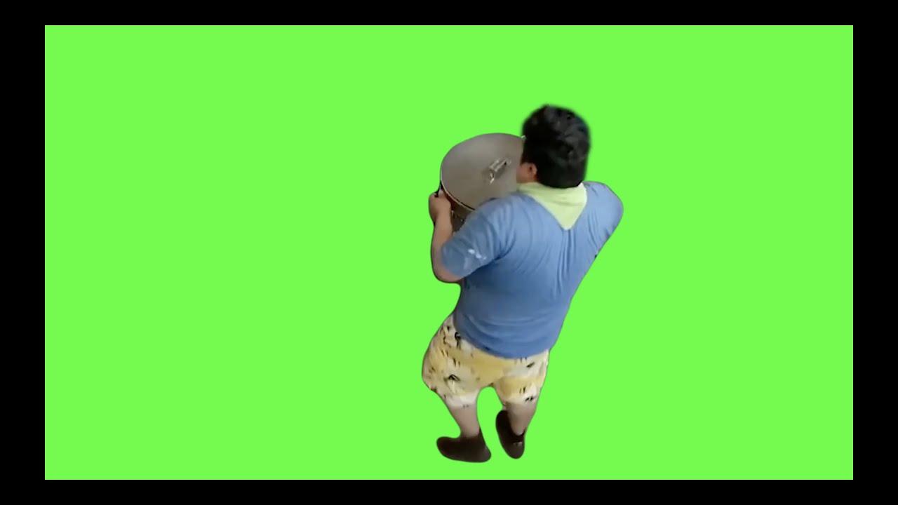 爆肝去背統神端火鍋+高清無人廚房 歡迎大家發揮想像力|綠幕素材Green screen Free footage