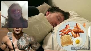 Jo-Flash Reacts To Funny WWE Alarm Clock Wake Up 8!