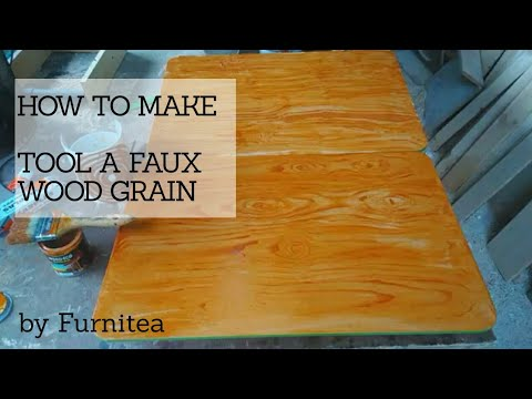 How to Make tool a Faux Wood Grain