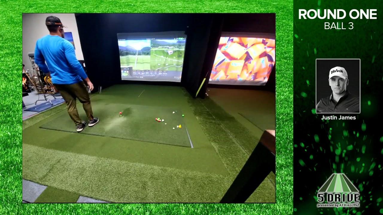 5 Drive - First Round exhibition Justin vs Ryan