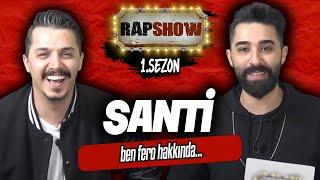 Rap Show  26 - Santi Aka Universe  Boss Lig 4  Defkhan  Ben Fero Tweeti  ibrahim Selim  Tuuh Pac  Resimi