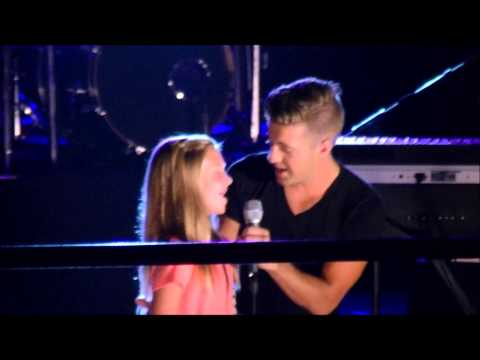 """Julia Singing """"One Voice"""" with Billy Gilman"""