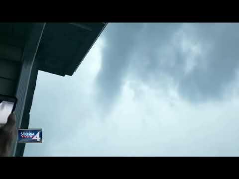 WATCH: Tornado forms in Sheboygan County