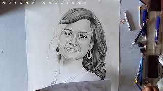 Nadia | Drawing | Bangla natok actor