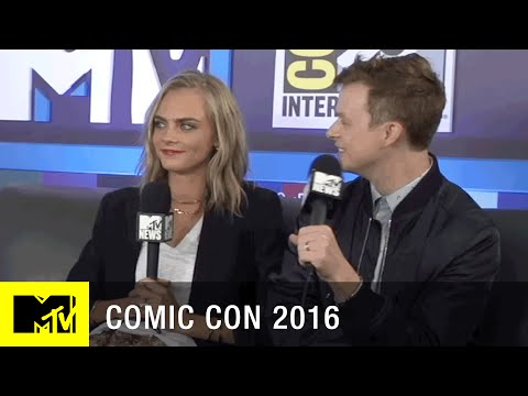 Cara Delevingne & Dane DeHaan Chat About Valerian | Comic Con 2016 | MTV