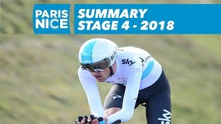 Summary - Stage 4 - Paris-Nice 2018