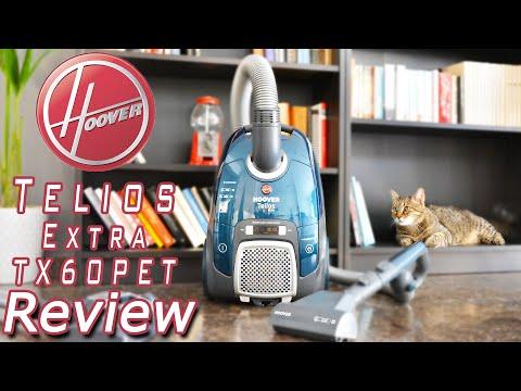 Hoover Telios Extra TX60PET Ηλεκτρική Σκούπα Review | Revyou.gr