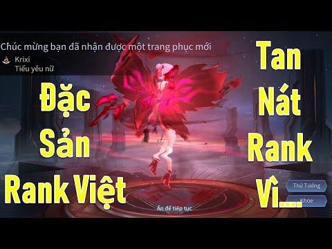Liên quân: Đặc sản rank đơn - Krixi Tiểu yêu nữ leo rank cao thủ cùng đồng team