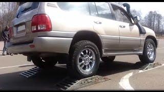 Video AWD test on rollers: V70, XC90, VW Golf, Maverick, Montero sport, Land Cruiser, Lexus GX470, LX470 download MP3, 3GP, MP4, WEBM, AVI, FLV Agustus 2018