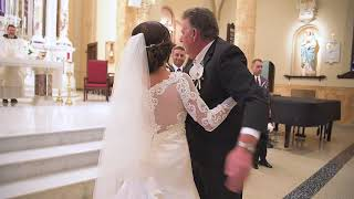 Wedding at St Ann's Church in Hoboken, NJ & Seasons in Washington Township, NJ By Alex Kaplan