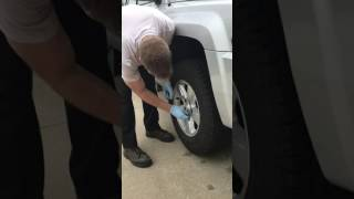 Taking Off the Tire - Pt. 2 - Video 10