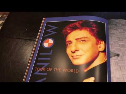 New Barry Manilow Tour Book/Program