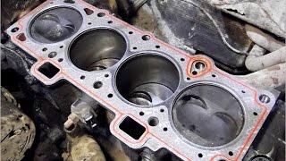 Замена прокладки ГБЦ двигатель 3E, 2E(, 2015-08-08T11:17:15.000Z)