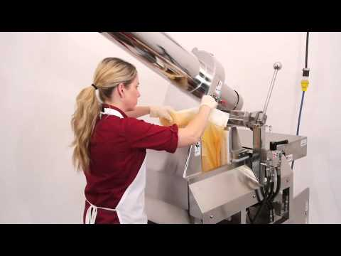 PR 100 Commercial Hydraulic Juice Press Demo