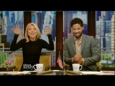 LIVE with Kelly co-host Jussie Smollett 5/17/16 Andy Samberg; Michael Weatherly (May 17, 2016)
