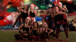 christmas songs crazy elf dance mariah carey miley cyrus chipmunks hula hoop