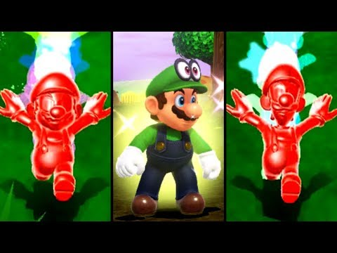 Evolution Of Super Star In 3D Super Mario Games (2007-2019)