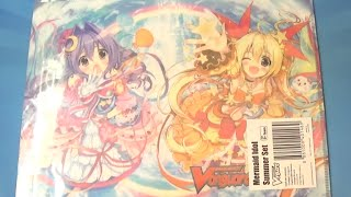 Cardfight Vanguard Mermaid Idol Summer Set Opening *Bermuda Triangle!*