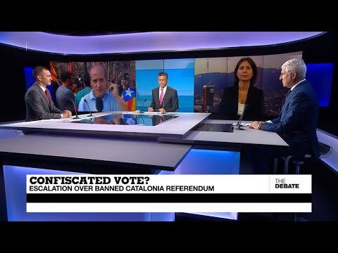 فرانس 24:Confiscated vote? Escalation over banned Catalonia referendum