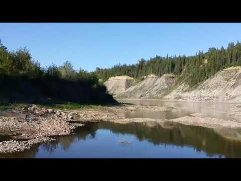 Gold Prospecting on the North Saskatchewan River