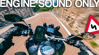 Ducati Multistrada 1260 S Sound Review RAW Onboard