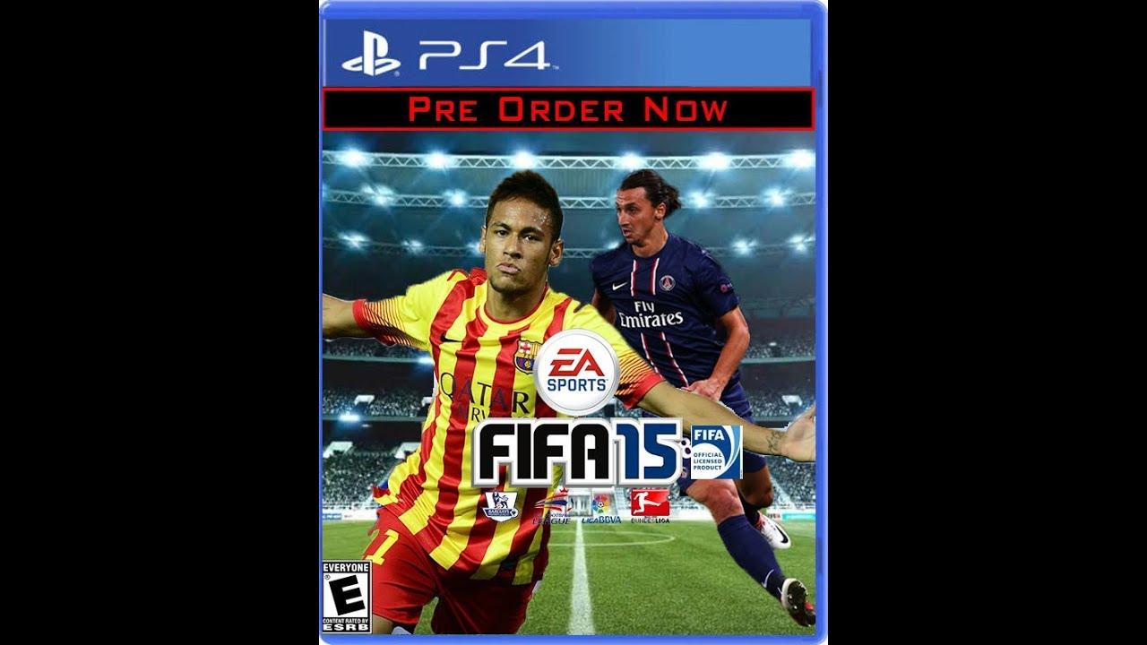 Fifa 15 Cover Messi SpeedArt | Fifa 15 Cus...