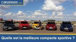 Comparatif - Quelle est la meilleure compacte sportive du marché?