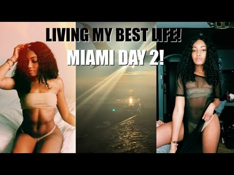 SPRING BREAK 2018| MIAMI | DAY 2 | LIVING MY BEST LIFE!