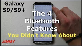 Galaxy S9/S9+ 4 Important (Hidden) Bluetooth Features