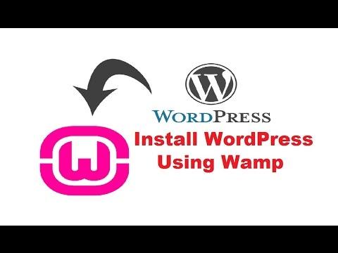 How To Install Wordpress On Wamp Server Pdf