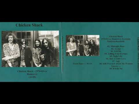 CHICKEN SHACK live in Hannover, Germany, xx.03.1970