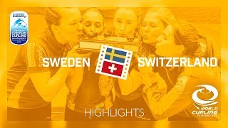 HIGHLIGHTS: Sweden v Switzerland - Women Final - Le Gruyère AOP European Curling Championships 2018