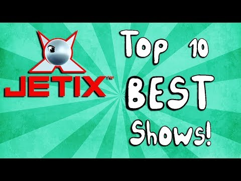 Top 10 BEST Jetix Shows!