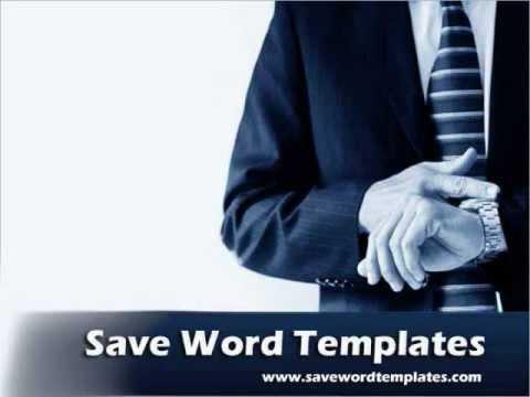 Blank CV Format - Word Template