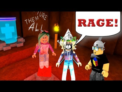 My Daughter Rages!- Roblox Flee The Facility