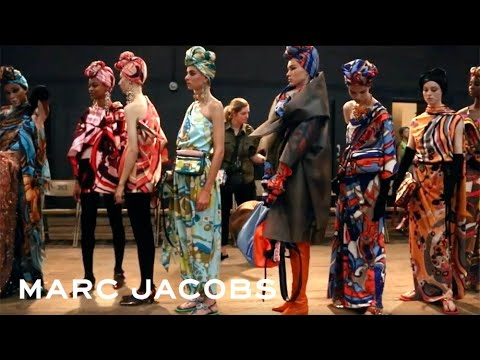 Marc Jacobs Spring 2018 - Behind the Scenes