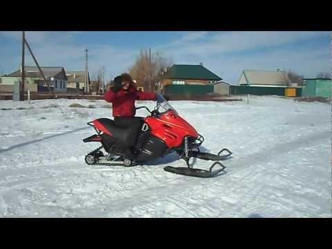 снегоход итлан каюр