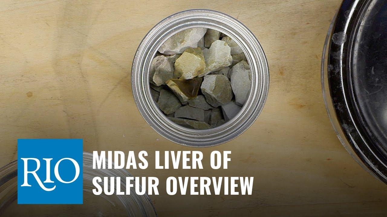 Midas® Liver of Sulfur, 8 oz